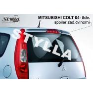 Stylla spoiler zadních dveří Mitsubishi Colt (2004 - 2008)