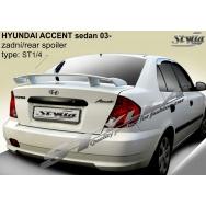 Stylla spoiler zadního víka Hyundai Accent sedan (2003 - 2005)