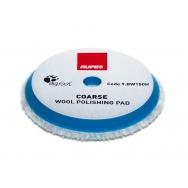 """RUPES Blue Wool Polishing Pad COARSE - vlněný korekční kotouč (tvrdý) pro orbitální leštičky, průměr 130/150 mm (5""""/6"""")"""