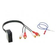 Signálový výstup ISO (10 pin) univerzální -> RCA