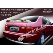 Stylla spoiler zadního víka Honda Civic sedan (1991 - 1995)