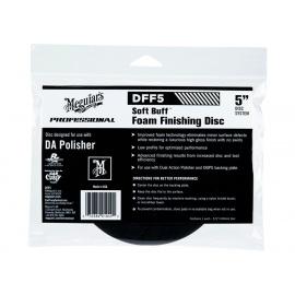 """Meguiars Soft Buff Foam Finishing Disc 5"""" - finišovací a voskovací kotouč pro DA leštičku (měkký), 5palcový"""