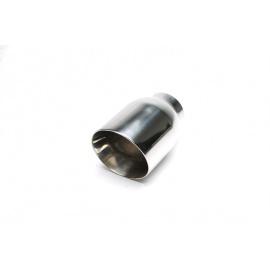 TA Technix koncovka výfuku nerezová - kulatá / zkosená, 110mm