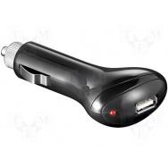 Automobilový napájecí zdroj 5V/1x2A USB černý