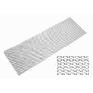 Hliníkový tahokov, kosočtverec, 135 x 30 cm - stříbrný, střední oka
