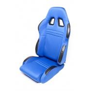 TA Technix sportovní sedačka sklopná - modrá Alcantara, pravá