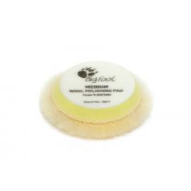 """RUPES Yellow Wool Polishing Pad MEDIUM - vlněné lešticí kotouče (střední) pro RUPES iBrid BigFoot nano, průměr 50/70 mm (2"""") - sada 4 ks"""