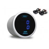 PROSPORT duální digitální ukazatel tlaku vzduchu s modrým podsvícením (kompaktní elektr. čidla)