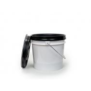 Dope Fibers kbelík s ochrannou vložkou a uzavíratelným víkem, 13 l