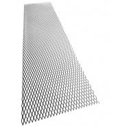 Hliníkový tahokov, kosočtverec, 100 x 25 cm - černý, velká oka