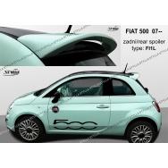 Stylla spoiler zadních dveří Fiat 500 (od 2007) - horní
