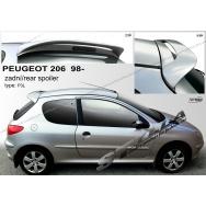 Stylla spoiler zadních dveří Peugeot 206