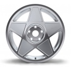 Alu kola 3SDM 0.05, 9,5x19 - stříbrná / leštění