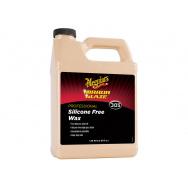 Meguiars Silicone Free Wax - vosk bez silikonu, vhodný i na čerstvě nastříkané laky, 1,89 l