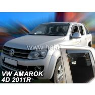 HEKO ofuky oken Volkswagen Amarok 4dv (od 2009) přední + zadní