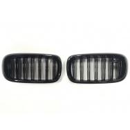 JOM ledvinky přední kapoty BMW X6 (typ F16, r. v. od 2014) - černé, M Style