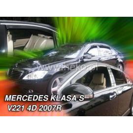 HEKO ofuky oken Mercedes Benz S W221 4dv LONG (2007-2013) přední + zadní