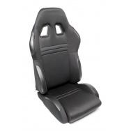 TA Technix sportovní sedačka sklopná - černá, levá