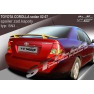 Stylla spoiler zadního víka Toyota Corolla sedan (2002 - 2007)