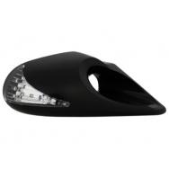Sportovní zrcátka X-stream s LED blikačem - elektricky ovládaná (3 póly)
