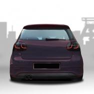 Zadní světla VW Golf V (5) s LED - Urban Style, černá