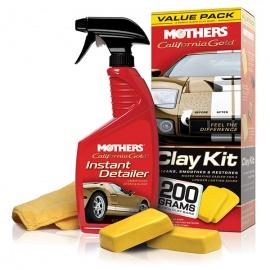 Mothers California Gold Clay Bar Value Pack - 2 x 100 g - odstraňovač hrubých nečistot z karoserie - sada