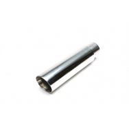 TA Technix koncovka výfuku nerezová - elipsa / zkosená, 72x76mm