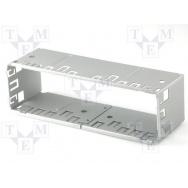 Plechový rámeček 1-DIN uni