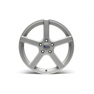 TA Technix XF1 ALU lité kolo konkávní 8,5x19 - stříbrná, 5x112, 66,6/57,1 ET35