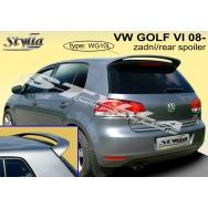 Stylla spoiler zadních dveří VW Golf VI (6) htb