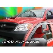 HEKO ofuky oken Toyota  Hilux VII 2dv (2005-2015) přední