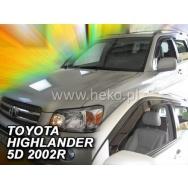 HEKO ofuky oken Toyota  Highlander USA 5dv (2001-2007) přední