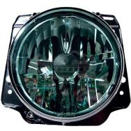 Přední světla VW Golf II (2) - černý chrom