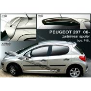 Stylla spoiler zadních dveří Peugeot 207 htb