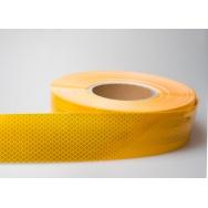 Samolepicí reflexní páska žlutá - délka 1m