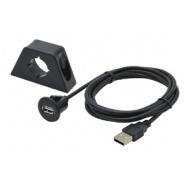 USB prodlužovací kabel s držákem