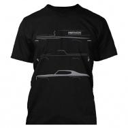 Mothers tričko s šedým potiskem - černé