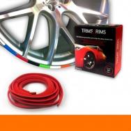 Trim4Rims - ochranný profil na ráfky, oranžový