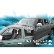 HEKO ofuky oken Toyota  Hilux VI 4dv (1998-2005) přední + zadní (MK5)