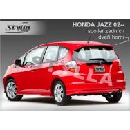 Stylla spoiler zadních dveří Honda Jazz (2002 - 2008) - horní