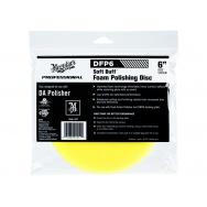 """Meguiars Soft Buff Foam Polishing Disc 6"""" - lešticí kotouč pro DA leštičku (střední), 6palcový"""