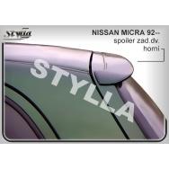 Stylla spoiler zadních dveří Nissan Micra (1992 - 2003)