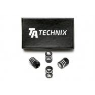 TA Technix čepičky ventilků - černé