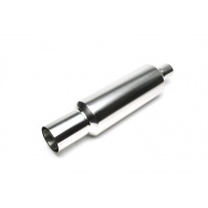 TA Technix sportovní nerezový tlumič výfuku - kulatá koncovka, průměr 100/75mm