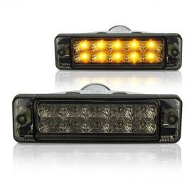 Blinkry VW Polo 86c (do 90) - s LED, černá