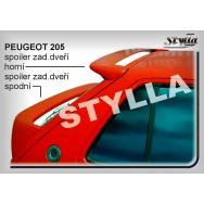 Stylla spoiler zadních dveří Peugeot 205 - spodní