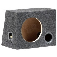 Subwooferová bassreflexová ozvučnice dřevotříska 25L/250mm