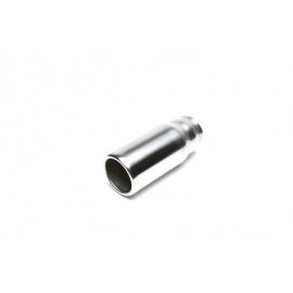 TA Technix koncovka výfuku nerezová - kulatá / stupňovitá, průměr 76mm