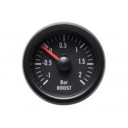 Autogauge přídavný tlak turba - černý