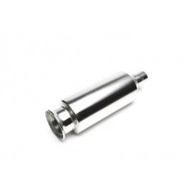 TA Technix sportovní nerezový tlumič výfuku - kulatá koncovka, průměr 125mm